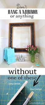 hang wall art and mirrors instantly
