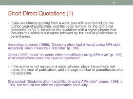 Quoting Paraphrasing And Apa Style Citations Ppt Download