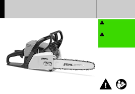 Stihl Chainsaw Ms 170 User Manual