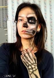 skeleton makeup ides