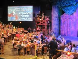 The Hatfield And Mccoy Dinner Feud In Pigeon Forge