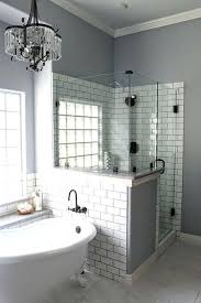 small bathrooms with clawfoot tubs bathroom with tiled shower and tub small bathroom remodel with clawfoot tub