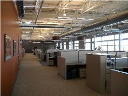 office space lighting. Open Office Space Features Efficient Lighting And Noise Masking I