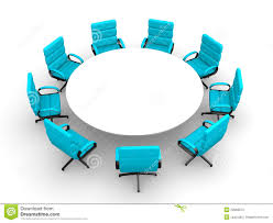 round table and chairs clipart. round table meeting clipart and chairs