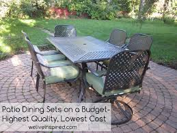 high quality patio dining furniture for s at home depot