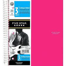 Five Star Graph Paper Notebooks Graph Paper Notebook Office Depot