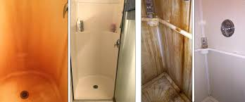 remove rust stains from tile before after clean rust stains from shower remove rust stains from tile