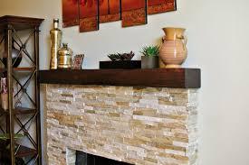 reclaimed wood fireplace mantel shelves style