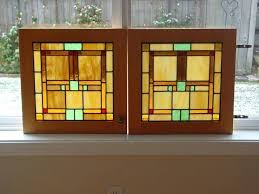 handmade custom cabinet door stained glass panels by enterprises kitchen doors patterns