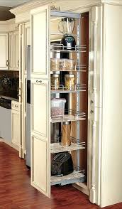 pull out pantry cabinet storage down kitchen shelves