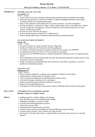 Analyst Sap Resume Samples Velvet Jobs