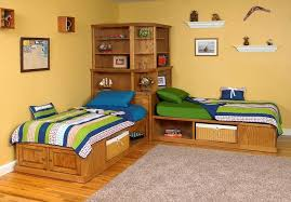l shaped beds with corner unit. Fine Shaped Corner Unit Twin Beds Modern Photos Of With Small  Bedroom Space Saving To L Shaped Beds With Corner Unit N
