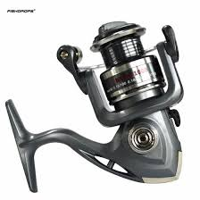 FISHDROPS 5000 6BB 5.5:1 Plastic <b>Spinning Fishing Reel Metal</b> ...