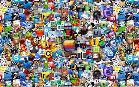 mac app collage wallpaper