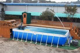 intex above ground swimming pool. Deck Ideas For Intex Above Ground Pools | Decking Swimming How To Build A Pool U