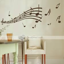 Small Picture Matter Music Note Pattern Wall sticker Graffiti Home Decor Mural