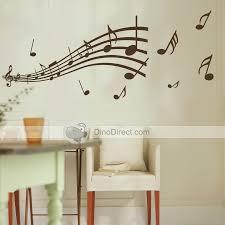 Small Picture Matter Music Note Pattern Wall sticker Graffiti Home Decor Mural
