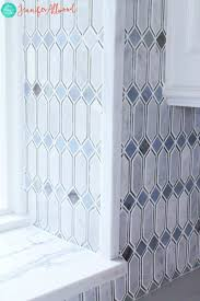 Vertical Tile Backsplash Awesome Glam Gorgeous Mirrored Tile Kitchen Backsplash Jennifer Allwood