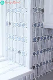 Vertical Tile Backsplash Awesome Glam Gorgeous Mirrored Tile Kitchen Backsplash Jennifer Allwood