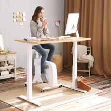 Home office solutions Room Sitstandmove Solution Height Adjustable Desk Under Desk Bikes V9u Ballard Designs Manufacturer For Sit Stand Desks Height Adjustable Desk Desk