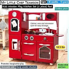 teamson play kitchen kids set best wooden sets plastic toys contemporary modern