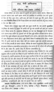 sample essay on the aim of my life in hindi