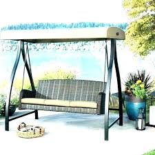 canopy lawn swings canopies porch patio swing with outdoor wooden top cover replacement