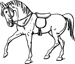 Colour In Pictures Of Horsesl