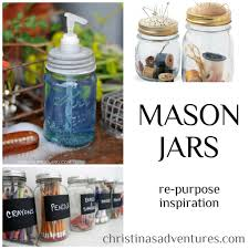 How To Decorate Canning Jars For the love of Mason Jars decoration inspiration Christinas 77