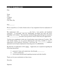 15 how to write a 2 week notice letter