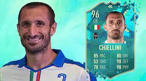 FIFA 20: GIORGIO CHIELLINI 96 FLASHBACK PLAYER REVIEW I FIFA 20 ULTIMATE  TEAM - YouTube