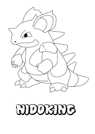 Pokemon Characters Coloring Pages Sketch Coloring