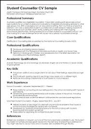 Simple Cv Examples Uk Psychology Cv Template