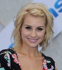 cute blonde simple wavy hair