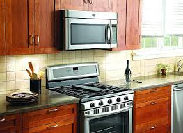 above oven microwave. Above Oven Microwave Installing Stove Over The Range For Design 16 V