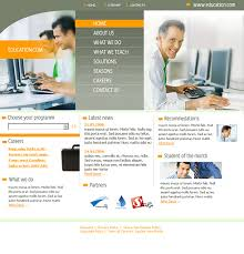 Templates For Education Computer Education Html Template 0550 Education Kids