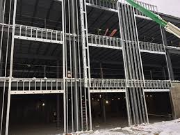 Metal framing studs House Metal Stud Framing Services In Cleveland Architectural Interior Restorations Inc Metal Stud Wall Construction Steel Framing In Cleveland Oh