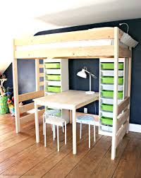 diy loft bed with stairs drawers plans bunk and slide