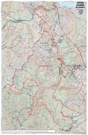 ansel adams wilderness – tom harrison maps