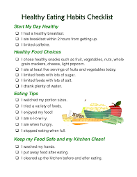 an essay on healthy eating habits healthy eating habits essay cram