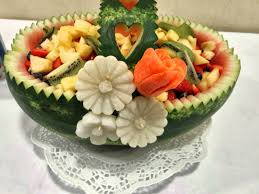 Fruits Designs Decoration Carving in Dublin video100 Fruit Vegetable Designs for tables 2