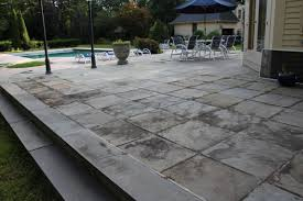 square concrete paver patio. Image Of Cheerful Lay Flagstone Patio Mortar And Square Concrete Paver Stones Also White Metal Garden
