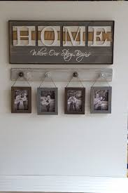 Small Picture Rustic HOME sign Home Where our story starts Country decor