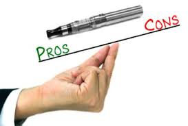 pros and cons of electronic cigarettes vapors digest