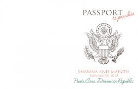 Free Passport Template For Kids Designs Passport Invitation Maker Plus Passport Birthday 64