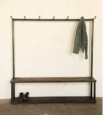 Storage Coat Rack Bench Fascinating Storage Coat Rack Bench At Strawser Smith In Brooklyn Remodelista