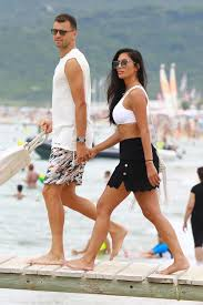 But nicole scherzinger, 37, and her tennis ace boyfriend, grigor dimitrov, 25, proved that they were stronger than ever as they put on a loved up display after an evening at the theatre last week. Grigor Dimitrov Nicole Scherzinger Celebrity Bikini Nichole Scherzinger