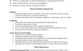 Line Cook Resume Skills Catering Cook Resume Example Fresh Banquet Sample Of Line Samples 10