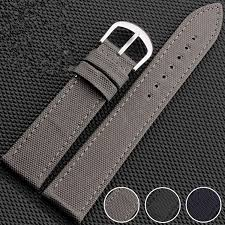 online buy whole 18mm canvas watch strap from 18mm waterproof 18mm 20mm 22mm 24mm men s women s genuine cowhide leather canvas side watch strap band