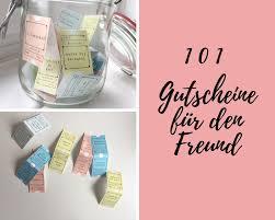 101 Gutscheine Für Den Freund Ideen Und Vorlagen Zum Download